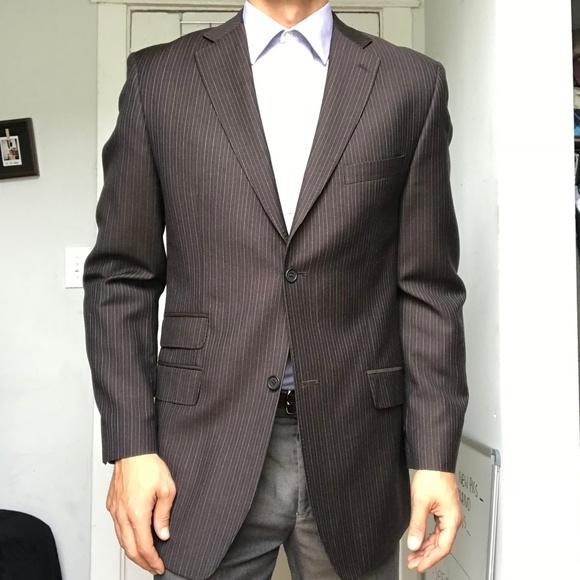 bc596d5b2575 Ted Baker Endurance Pinstripe Blazer Suit Jacket. M 5b0644e9739d4854f68ea12a